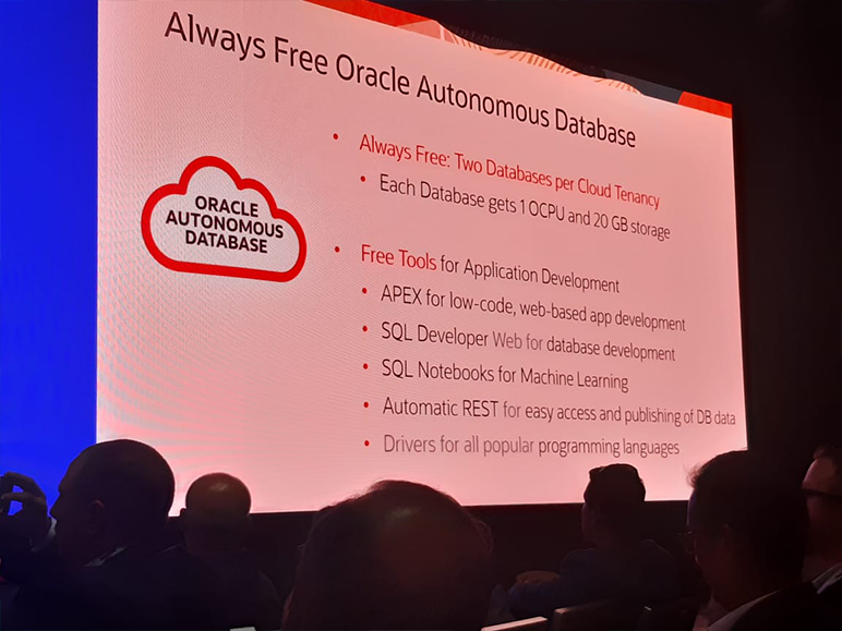 Foto do Oracle OpenWorld 2019